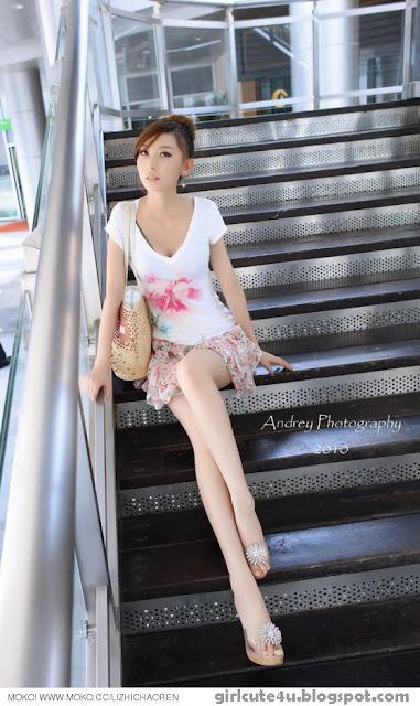 Li-Fan-Pink-and-White-06-very cute asian girl-girlcute4u.blogspot.com