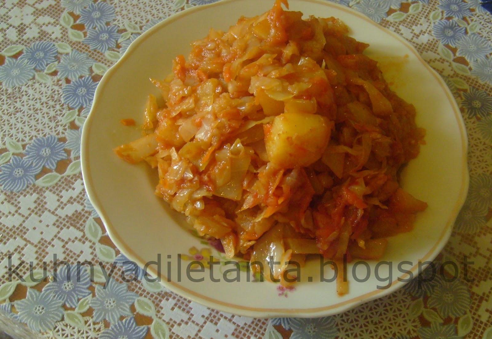 Рецепты капусты без мяса