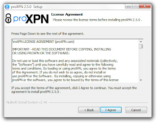 installing proXPN in windows