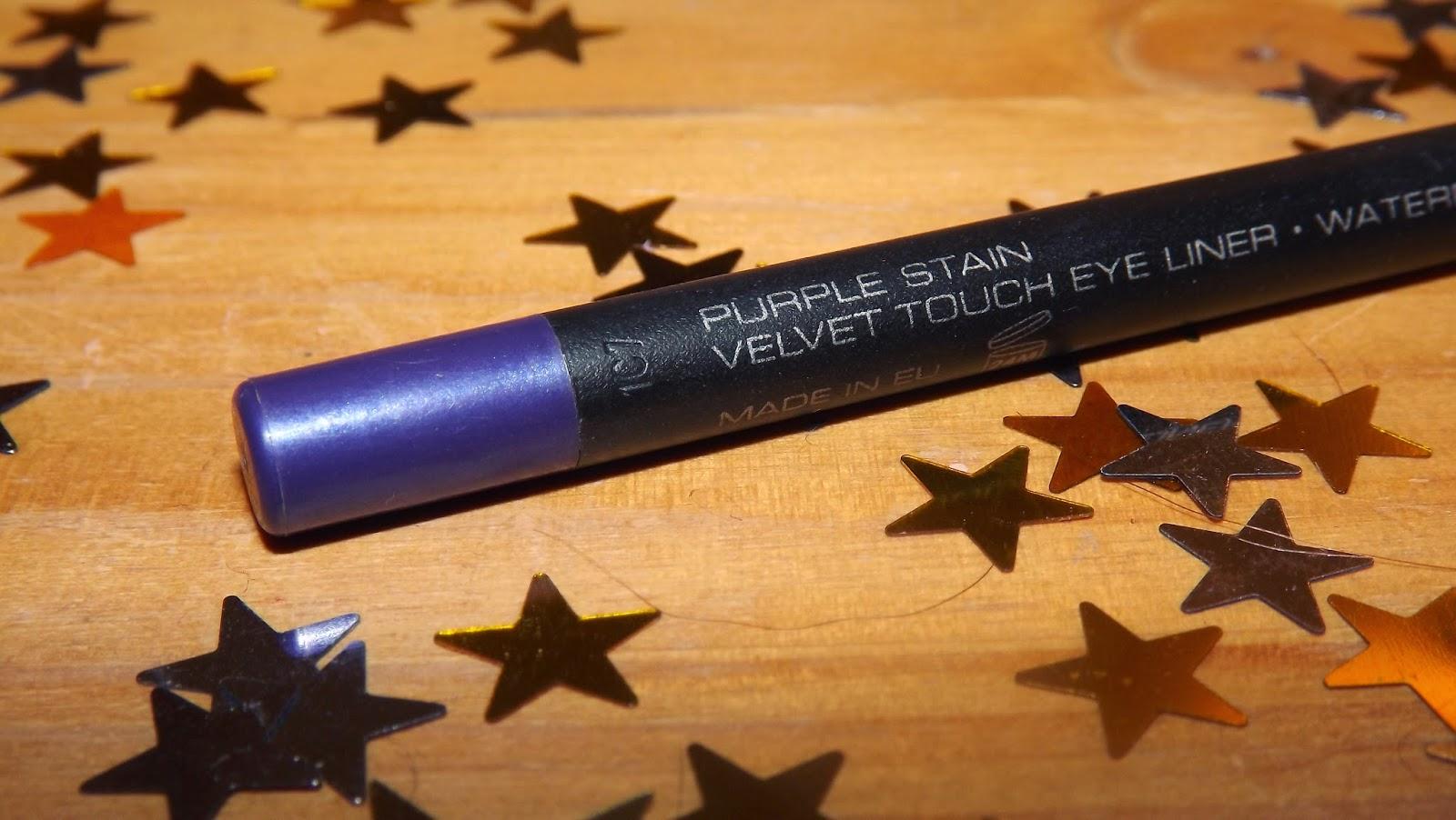 Gosh eyeliner purple stain