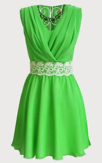 www.sheinside.com/Green-V-Neck-Sleeveless-Lace-Pleated-Chiffon-Dress-p-112273-cat-1727.html?aff_id=1238