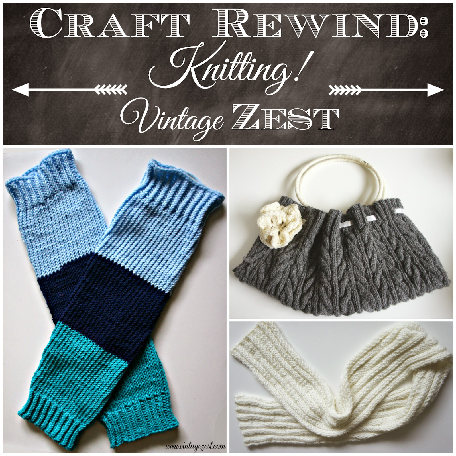 Craft Rewind: Knitting! on Diane's Vintage Zest!