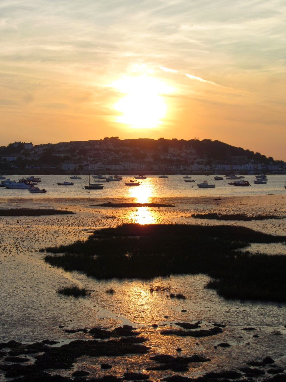 sunset at Instow, North Devon