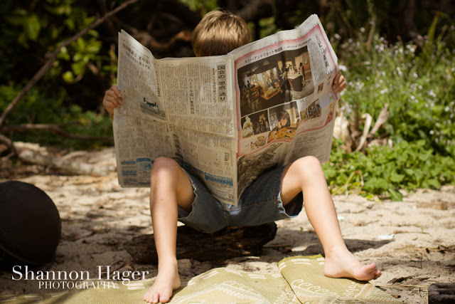 Shannon Hager Photography, Japanese newspaper, Children's Photography