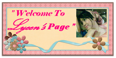 Welcome To Lyeen's Page