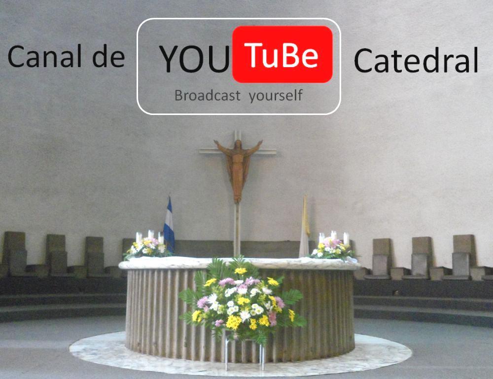 Canal de Catedral de Managua en youtube