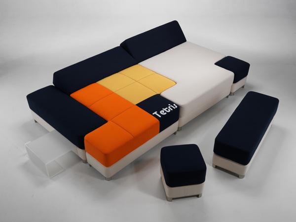 Marzua tetriscouch sof de m dulos combinables - Sofas por modulos ...