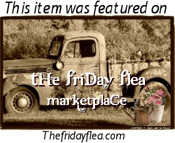 Fabulous items on The Friday Flea!