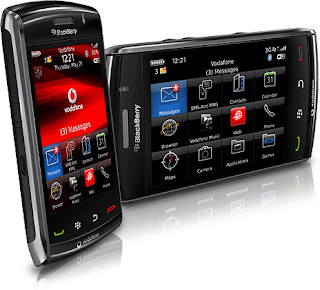 BlackBerry Storm2 9520 has multi-touch feature
