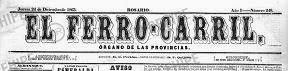 Periódicos rosarinos antiguos