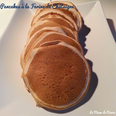 Illustration Pancakes à la Farine de Châtaigne sans Gluten