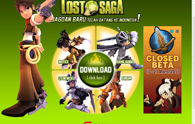 Gemscool Lost Saga Online Indonesia