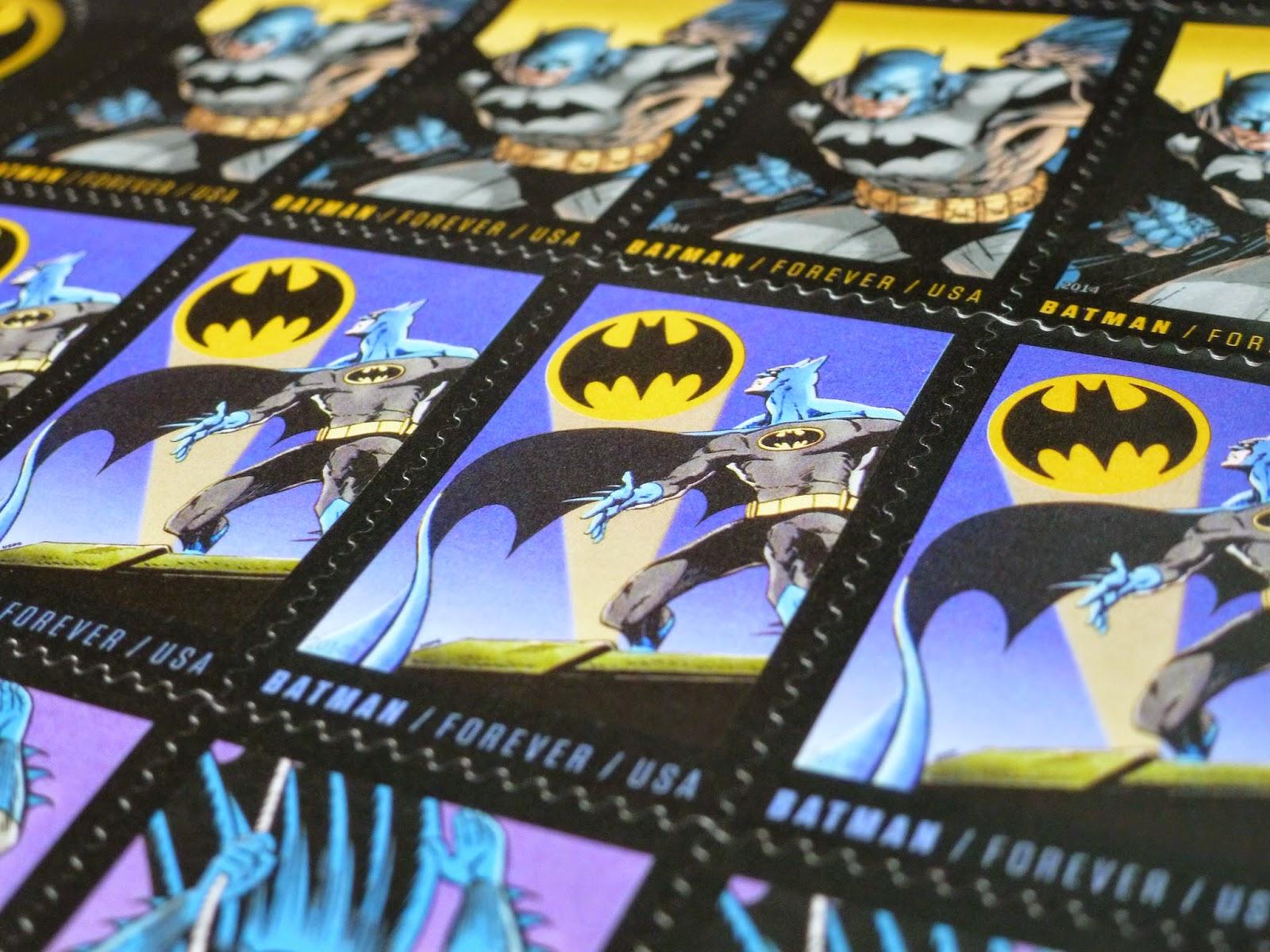 USPS Batman Forever Stamps