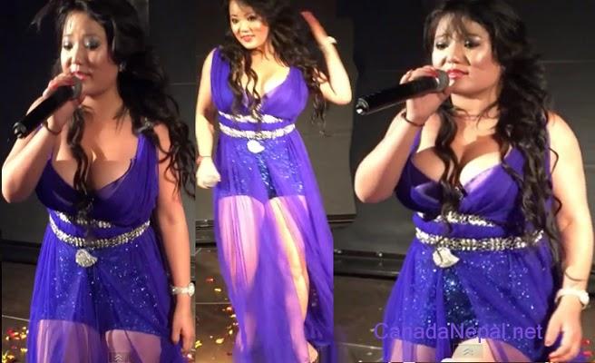 jyoti magar super performance stage show in denmark jyoti thapa magar ...