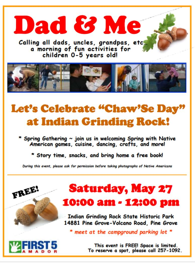 Dad & Me: Chaw'Se Day - Sat May 27