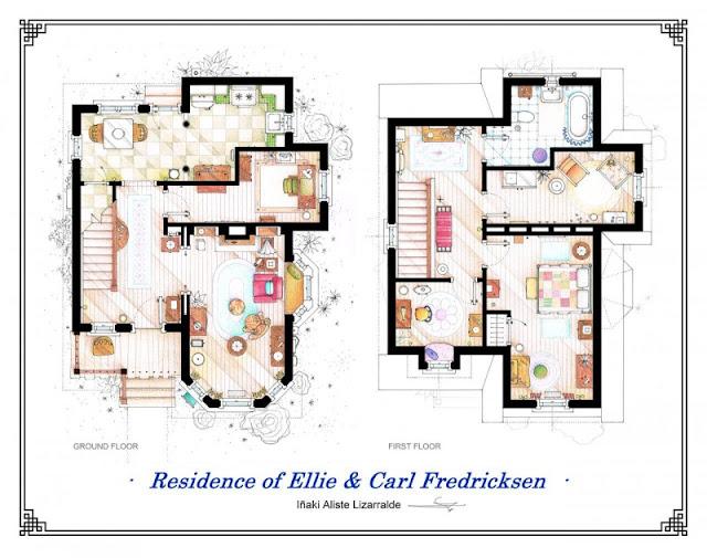 Planos de la casa de up la pelicula planos de casas - Casas de peliculas ...