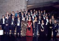 En el Parador de Segovia, Damas y Caballeros de la Imperial Orden Hispánica de Carlos V