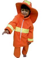 kostum profesi pemadam kebakaran