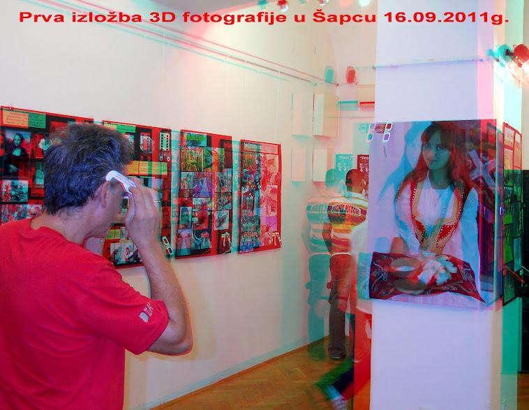 3D fotografija -IZNENAĐENJE  u Šapcu