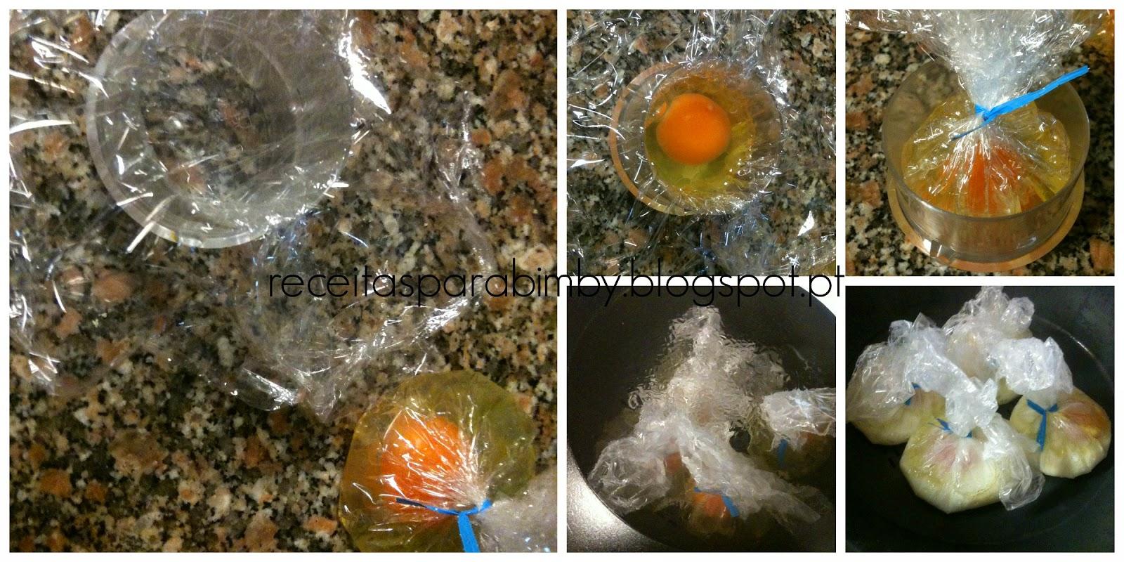 Como fazer Ovos Escalfados na Bimby