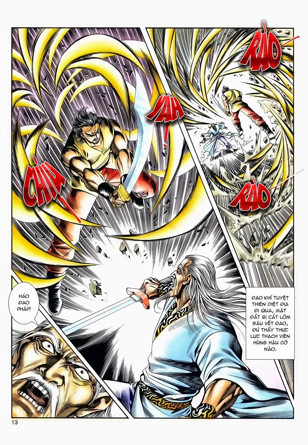 Long Hổ Phong Bạo chap 4 - Trang 12