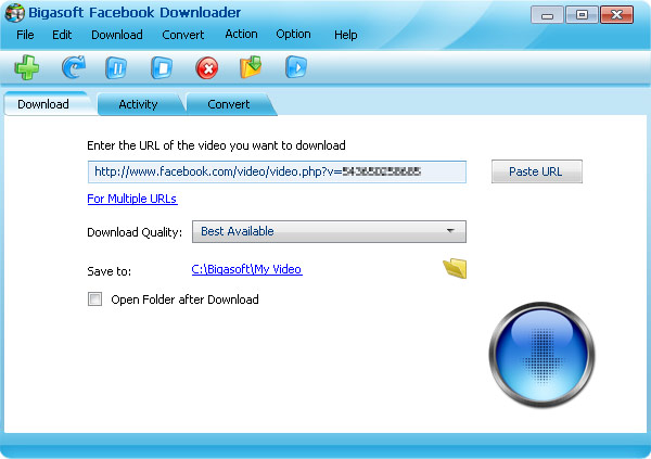 bigasoft downloader
