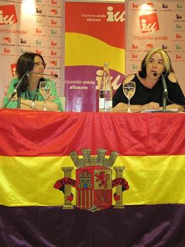 Acto de celebración del 80 aniversario de la proclamación de la República Española con Marga Ferré