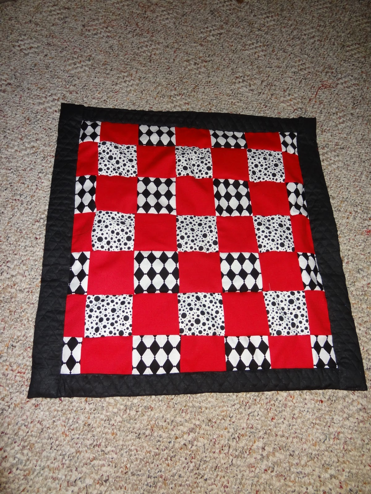 All in a day for Floor quilt for babies
