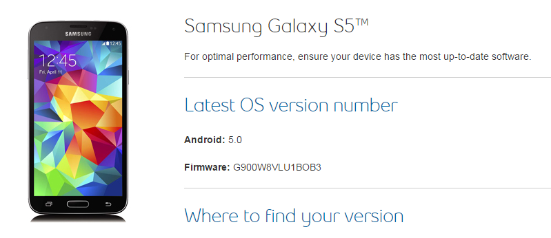 Get your Galaxy S5's Lollipop now [Update: all carriers ...