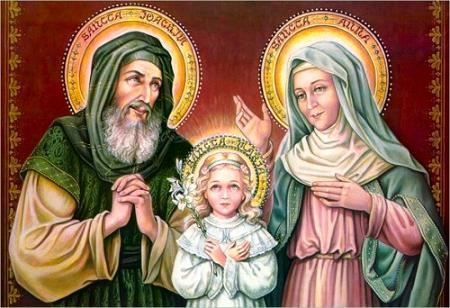 Sancti Ioachim et Anna, ¡orate pro nobis!