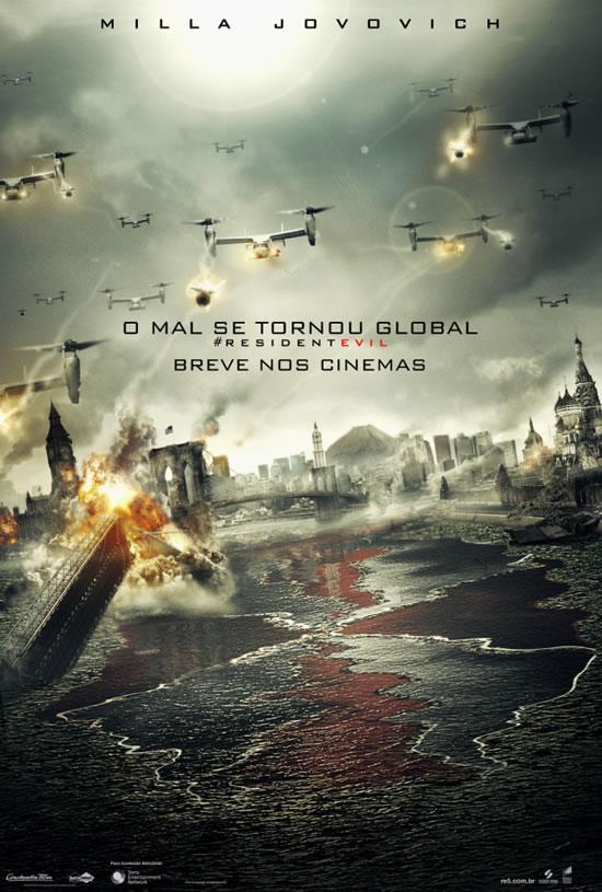 Resident Evil 5: Retribuição - Poster