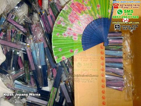 Kipas Jepang Warna Bambuksifon Ciamis