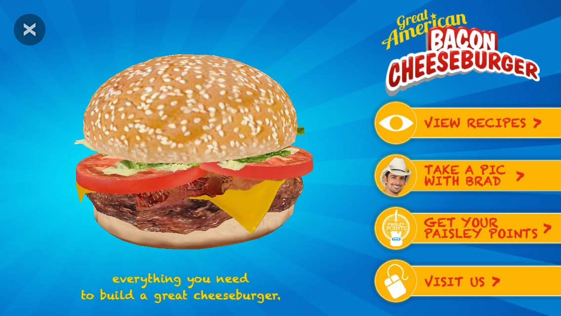KRAFT and Blippar make grocery shopping fun! #saycheeseburger #shop