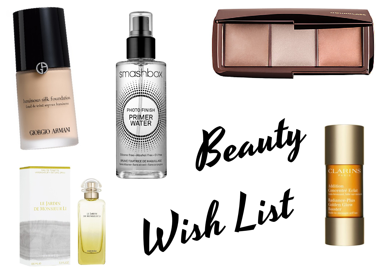 August Beauty Wish List, Effortlessly Excessive