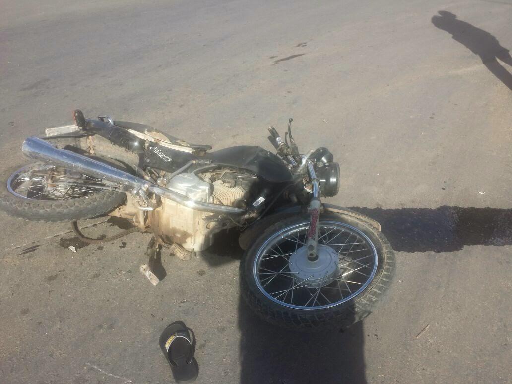 Acidente de transito em Acopiara deixa motociclista em estado grave