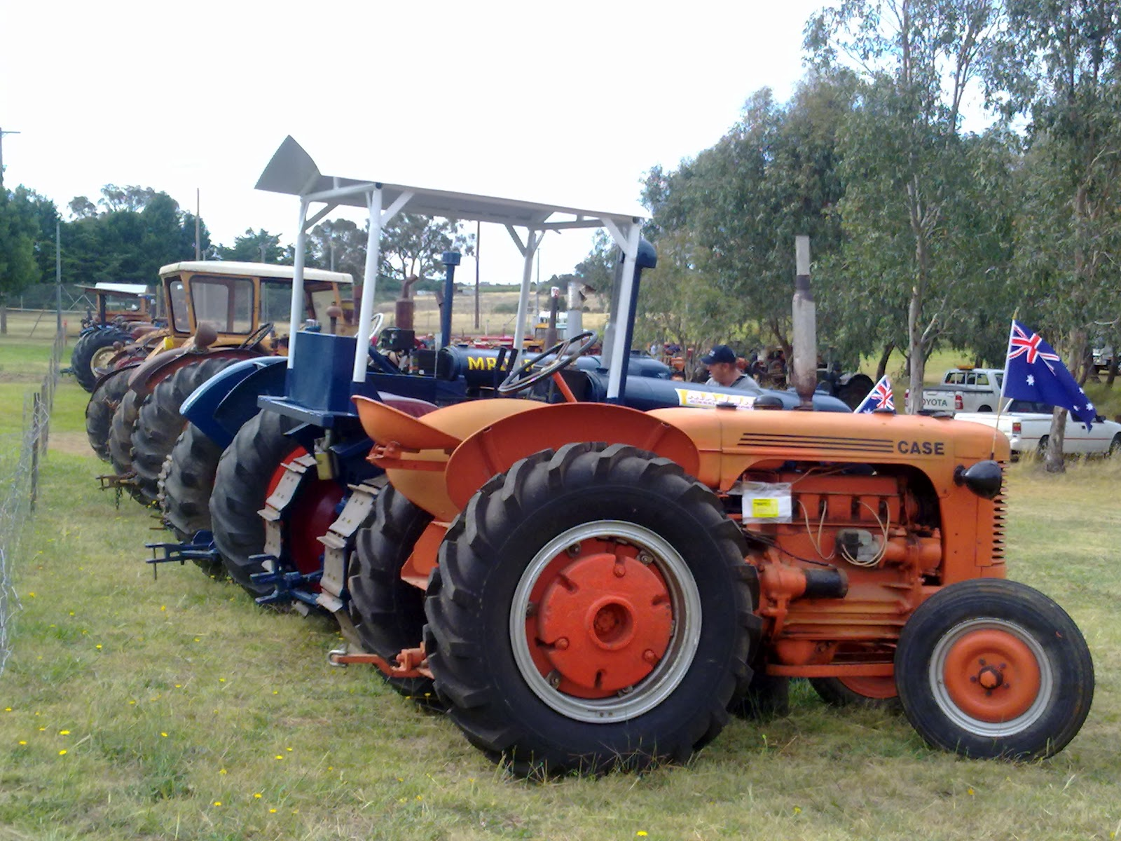 Tractor Pull Tractors : Road to rome australia day at wombat nsw the tractor