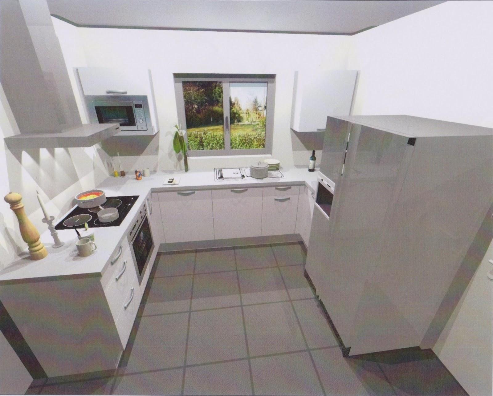 Notre projet de construction bbc avec villa et maison de france instant d co - Cuisine en u avec fenetre ...