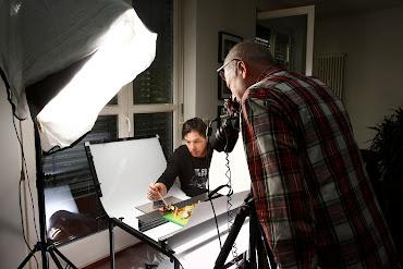 Foto-Shooting für ein neues Kochbuch