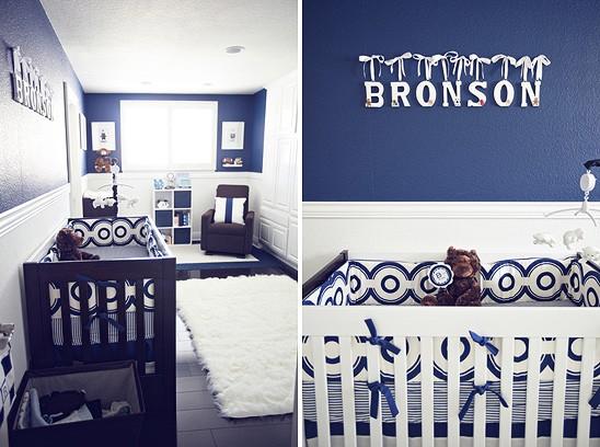 Quarto Casal Azul Marinho E Branco ~ Meu mundo e tudo mais Quarto em Azul marinho