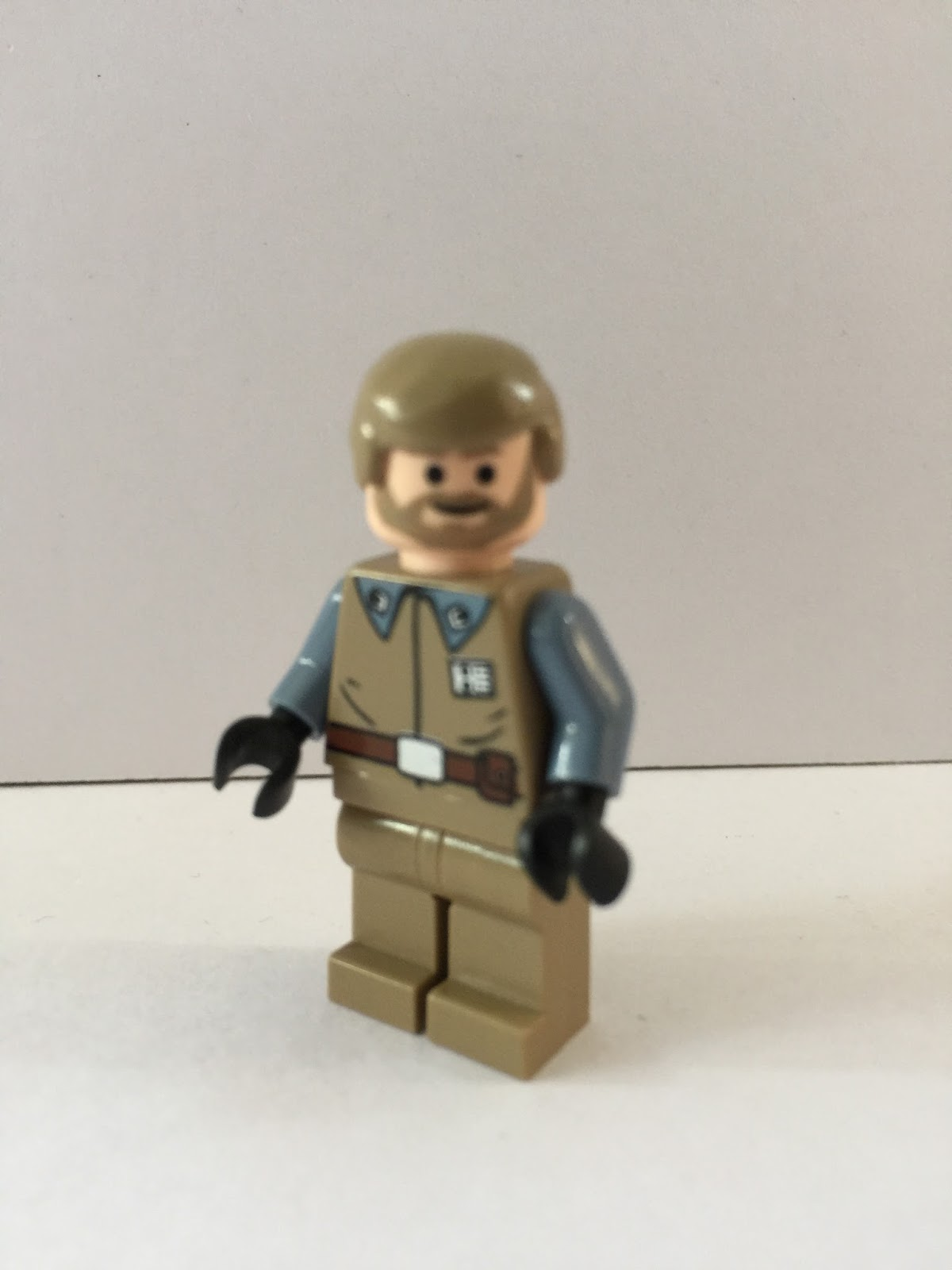 Lego Crix Madine Head Hair Piece from set 7754 Star Wars for Minifigure NEW