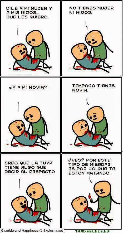 Cyanide and Happiness - Muerte merecida
