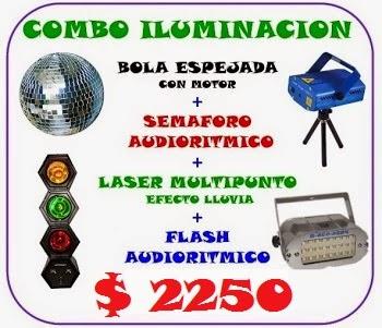 COMBO ILUMINACION