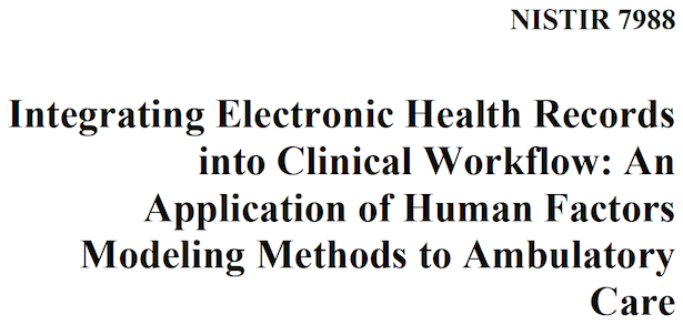 national plan to integrate electronic health records by 2014 Use and characteristics of electronic health record systems records or electronic health records md: national center for health statistics 2014.