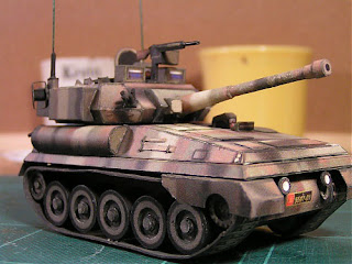 Tank, FV101 Scorpion Light Papercraft