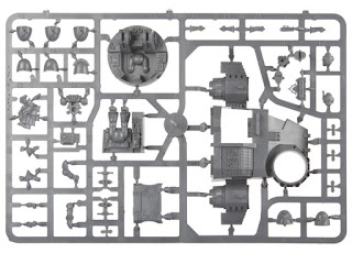 Ravenwing Darkshroud Sprues