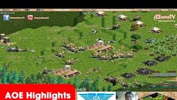 AOE Highlights, Kinh nghiệm đẩy quân 4vs4 của Thái Bình được phát huy tối đa khi quân cửa dưới