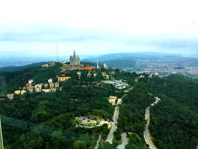 Barcelona, widok na Tibidato