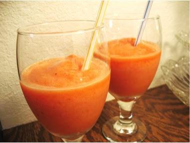 Diva In The Kitchen: Fruity Lemonade Slush