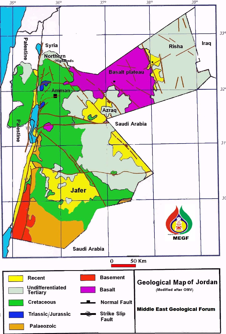 MEGF Azraq Basin Hydrocarbon Exploration Opportunities in Jordan