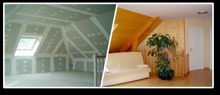 Le metier de couvreur amenagement des combles sous la toiture - Calcul de pente de toit ...
